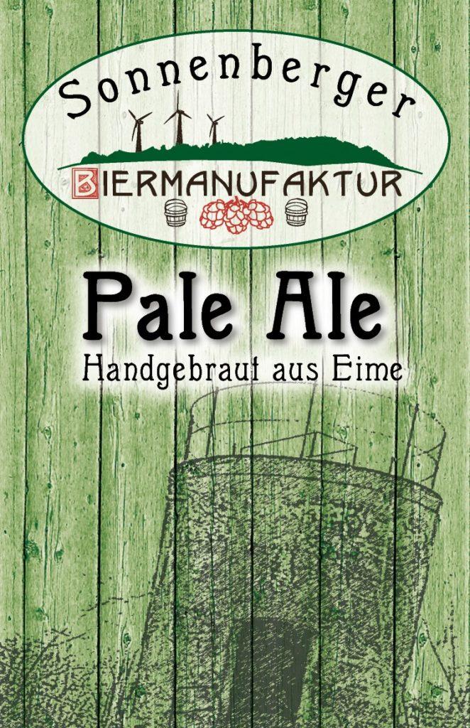Sonnenberger Biermanufaktur Pale Ale Etikett