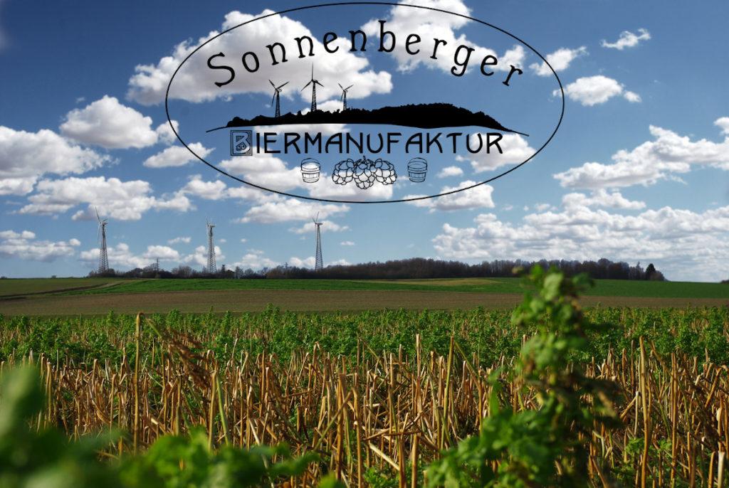 Sonnenberg mit Sonnenberger Biermanufaktur Logo Titelbild